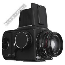 HASSELBLAD 500CM 500 C/M + C T* 80mm F2.8 + A12 6X6 FILM BACK KIT EX++ / 180D W