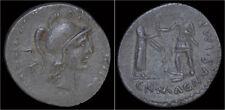 Roman imperatorial Cn.Pompey Ar denarius