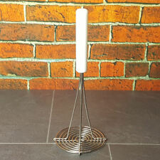 """Heavy Duty Potato Masher - Vegetable Catering Professional Round 12"""" x 5.5"""" New"""