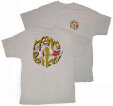 HARO BIKES - Logo Círculo - Clásicos Bmx Camiseta - Blanco - XL