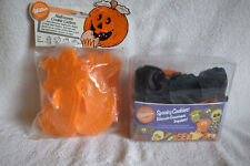 2 Packages WILTON Halloween Cookie Cutters-UNUSED-14 Different Ones- 1988 1995