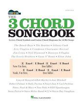 The 3 Chord Songbook Strum & Sing Play Easy Pop Hits Songs GUITAR MUSIC BOOK