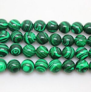 Green Peacock Loose Bead Bead Making Accessories 4mm 40PCS