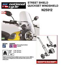 HONDA VT600C, CD SHADOW VLX / DLX NATIONAL CYCLE QUICKSET WINDSHIELD N25012