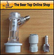 More details for corny keg gas ball lock disconnect - check valve - jg 3/8