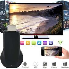 Mirascreen pantalla 1080P WiFi Receptor AV HDMI dongle DLNA AirPlay Miracast BF