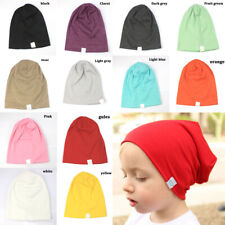 Toddler Newborn Stretch Hat Kids Baby Boy Girl Infants Cotton Soft Warm Hat Cap