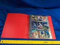 107 All Roger Clemens Baseball Card Lot Binder Ny Yankees Boston Red Sox Toronto