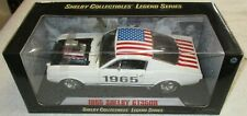 SHELBY COLLECTIBLES 1/18 SCALE 1965 SHELBY GT350R AMERICAN FLAG PAINT VERY RARE!