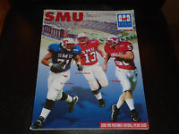 2000 SMU COLLEGE FOOTBALL MEDIA GUIDE EX-MINT BOX 2