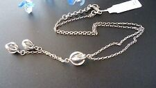 STUNNING GENUINE 925 SOLID STERLING SILVER  NECKLACE  MADE IN ITALY
