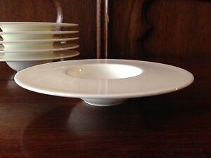 Dibbern Fine Bone China - Pure - 6 Mini Plate Deep - Ø 13,5 CM - New