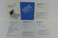 IBM PS/2 MODEL L40SX QUICK REFERENCE TRACKPOINT USER'S GUIDE DATA/FAX MODEM INFO