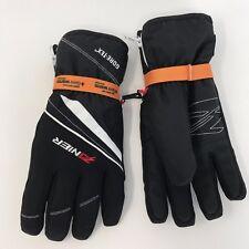 Zanier Rauris.GTX Gore-tex Winter Men's Ski Glove Black with Zipper M/8.5