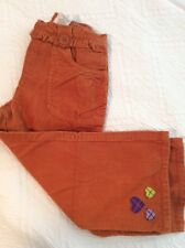Beautiful Gymboree MIX N MATCH Line Dark Orange Corduroy Pants  NWT 4T