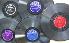 BOOGIE WOOGIE 78 LOT of 5 by MEADE LUX LEWIS, AMMONS, MARY LOU WILLIAMS, H. HILL