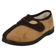 35 Pantofole da donna marrone
