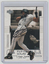 FRANK THOMAS White Sox SIGNED 2000 Upper Deck Baseball 47 Autograph ON CARD AUTO