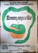 manifesto 4F film EMMANUELLE Sylvia Kristel Alain Cuny Just Jaeckin 1973