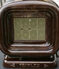 antica e rara stufa a gas triplex in ghisa funzionante buone condizioni
