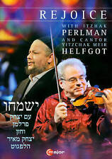 Rejoice DVD Perlman-All Regions -Free Shipping!