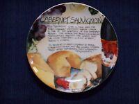 Cabernet Sauvignon Plate Deborah K Ellis SBCD