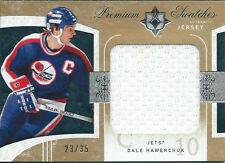 DALE HAWERCHUK 09/10 ULTIMATE COLLECTION JERSEY 23/35