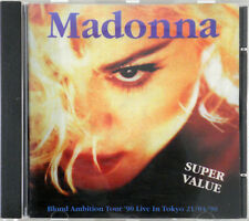 cd MADONNA Blond Ambition Tour '90 Live in Tokio 21/04/90 on stage records RARE