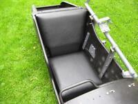 BMW R75, BMW R71, Zündapp KS 750 kompletter Sitz für den Beiwagen aus Kunstleder