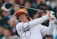 Rickie FOWLER SIGNED Autograph 12x8 Photo AFTAL COA 2011 Korean Open GOLF Winner