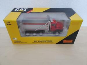 1/50 Norscot Caterpillar Cat CT660 Dump Truck - Red (#55502)