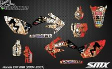 CRF 250 MX graphics kit motocross decals CRF250 2004-2007 2005 2006 CRF stickers