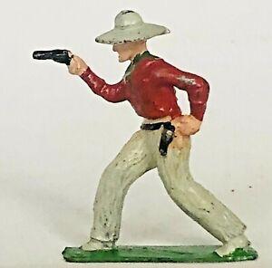 John Hill/Johillco: COWBOY & GUN - Wild West - lead figure - in superb condition