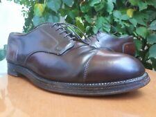 Alden 2160 Mens Shell Cordovan Brown Cap Toe Oxford Shoes Sz US 9.5 CE