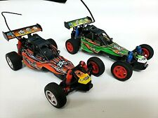LOT of 2 Toys'R'Us 27MHz Ultra Fast Remote Control Race Car, Stunts (C-4)