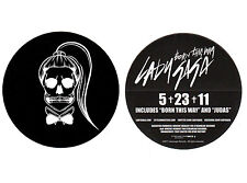 LADY GAGA Born This Way Ltd Ed Discontinued RARE New Sticker! Dance Pop Joanne