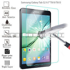 "Samsung Galaxy Tab Protector Tempered Glass 100% Genuine For Tablet S2 9.7"" T810"