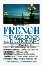 Grosset's French Phrase Book and Dictionary for Travelers (Perigee) (English and