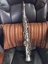 Vintage Stratford USA Soprano Straight Line Saxophone Patent 1914
