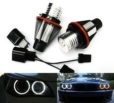 2x BMW Angel Eyes Halo LED Light Bulb White E39 E87 E60 E63 E65 E66 E53 X5 E83