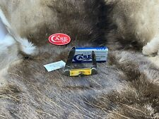 1989 Case Centennial Canoe Knife With Stag Handles Mint In Box - 52C