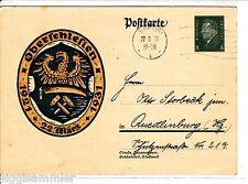 Oberschlesien Wappen 10 Jahre 1921-1931 AK 1931 Polen Polska 1508239