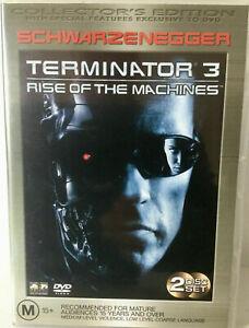 Terminator 3 Rise of the Machines DVD Arnold Schwarzenegger COLLECTORS EDITION