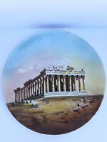 """Greek Pottery 11"""" Wall Hanging Decorative Plate - Hand Made in Greece"""