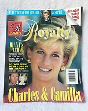 ROYALTY MAGAZINE VOLUME 14 NUMBER 7 PRINCESS DIANA CHARLES & CAMILLA