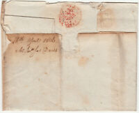 George III Entire Wrapper to Mr Lloyd, Ludlow, 5d charge, not 6d, 16 April 1806