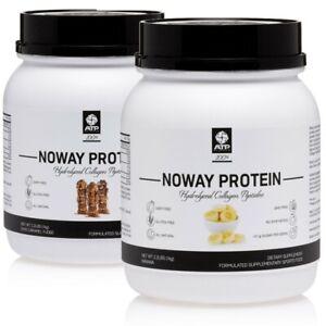 Atp Science Noway Protein 1Kg x2 Twin Gluten Free Dairy Free Hydrolyzed Collagen