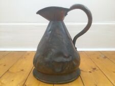 Antique Copper Jug Kitchen Prop Rustic