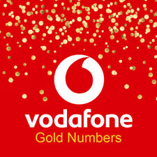 Vodafone Platinum VIP Gold Easy PAYG Pay As You Go Mobile Number SIM Card UK