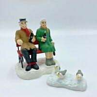 Coca Cola Town Square Collection ~ 1996 ~ Couple Feeding Birds ~ Figurine ~ Gift